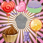 拼图与糖果和蛋糕为幼儿和小女孩  教育益智游戏 1.0.2
