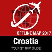 克罗地亚 旅游指南+离线地图