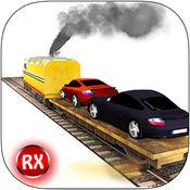 汽车转运货物列车 - 3D逼真快速汽车运输及重载货运模拟器