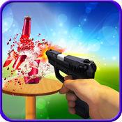 射手枪射击游戏者3d
