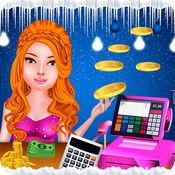 现金 登记册 游戏 - 超市 收银员