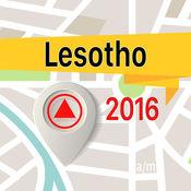 莱索托 离线地图导航和指南 1