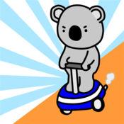 跳跃的树袋熊