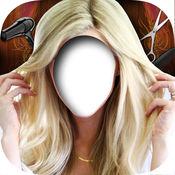 金发碧眼的发型换 - 参观虚拟的美发沙龙和编辑照片,尝试流