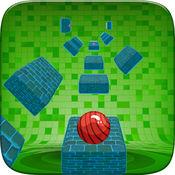 跳球短跑-扭曲之字形水龙头和跳圈游戏免费
