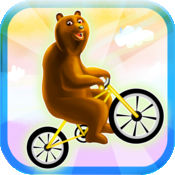 蹦蹦熊:王之山-和雪崩赛跑 免费版本