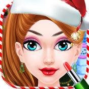 圣诞化妆2017 - 水疗化妆换装游戏