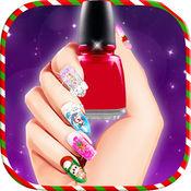 圣诞公主美甲沙龙:美甲游戏