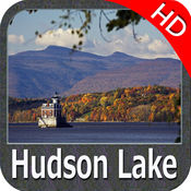 湖 哈德森 Indiana HD - GPS 地图 航海家