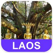 老挝 离线地图 - PLACE STARS v1.1