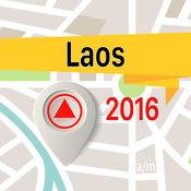 老挝人民民主共和国 离线地图导航和指南 1