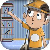 跳跃青少年逃生 - 懒孩子避免图书 - 高级