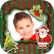 儿童相框圣诞 - 照片编辑器,为儿童和婴儿帧,并创建圣诞贺卡