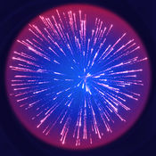 彩色烟花。由线连接火! (Color Fireworks. Connect the fires by line!)