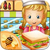 餐馆 烹饪大师 三明治 制造商 烘烤 汉堡 糕点