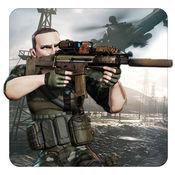 再生产 的 血迹 狙击手射击:射击你的敌人拯救国家 1.5