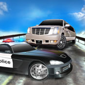 大轿车逃跑 警方拆除驱动程序 1