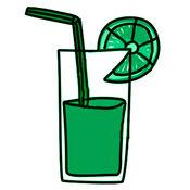 掺有水果的蔬菜榨汁 免费 2.2