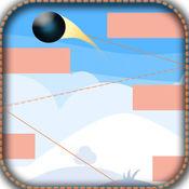 重力球免费游戏:点击切换双方避免与白条碰撞 1
