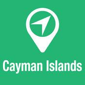 大指南 开曼群岛 地图+旅游指南和离线语音导航