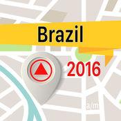 巴西 离线地图导航和指南 1