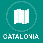 加泰罗尼亚,西班牙 : 离线GPS导航