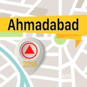 艾哈迈达巴德 离线地图导航和指南 1