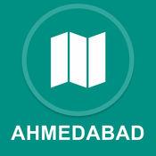 印度艾哈迈达巴德 : 离线GPS导航 1
