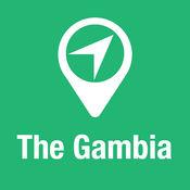 大指南 冈比亚 地图+旅游指南和离线语音导航