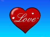 心脏爱贴纸 1
