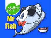 表情贴纸 Hellowe Stickers: Mr Fish