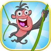 无敌森林传单 - 丛林猴子最长的旅程
