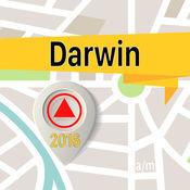 达尔文 离线地图导航和指南 1