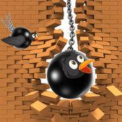 铁球鸟 - 免费趣味冒险游戏适合所有孩子,男孩,女孩