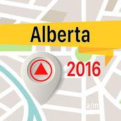 Alberta 离线地图导航和指南 1