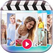 制作幻灯片视频 : 将照片影集 转成影片剪辑 和 添加背景音