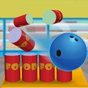 杂货店破坏党:食品空气保龄球游戏 - 免费版