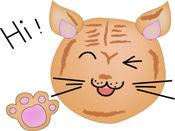 Kedi Meo Meo贴纸,设计:Hanna