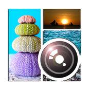 图片拼贴创造者免费 - 夏季框架和最佳模式照片编辑网格 1