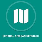中非共和国 : 离线GPS导航 1