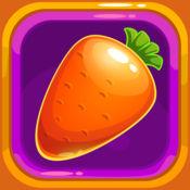 填色游戏: 孩子们学习画蔬菜 1