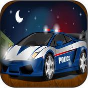惊人的警察赛车亲 - 真棒速度山地赛