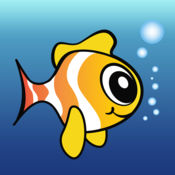 飞扬的笨拙的鱼