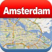 阿姆斯特丹离线地图 - 城市 地铁 机场 4.3
