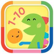 由BabyFirst 和Lazoo携手打造的小童学数遊戏-寻找小不点1-10