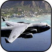 飞机拼图游戏免费为孩子和成人 1