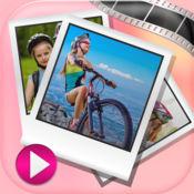 与音乐的图片幻灯片 – 视频编辑器 1