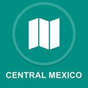 墨西哥中部 : 离线GPS导航
