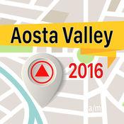 Aosta Valley 离线地图导航和指南 1