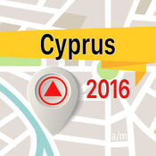 塞浦路斯 离线地图导航和指南 1
